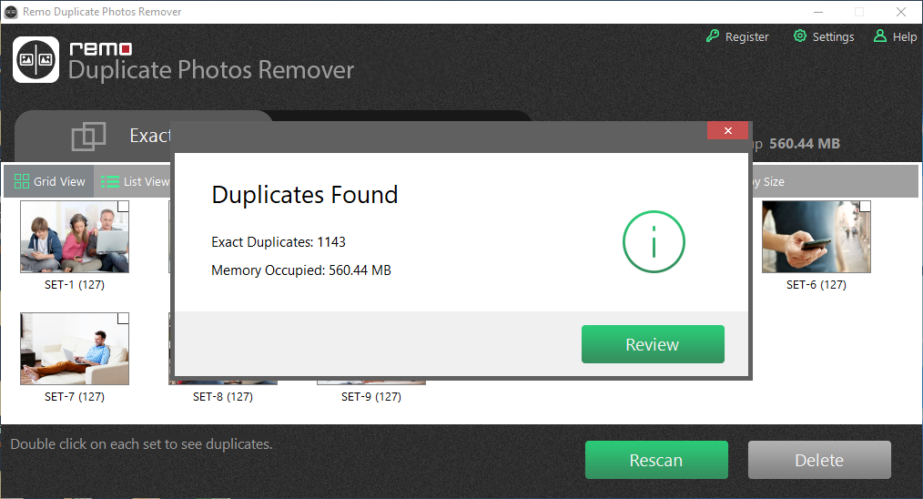 delete duplicate and similar photos
