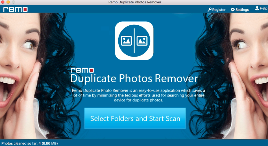 Launch Remo Duplicate Photos Remover on Mac