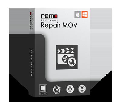 Remo Repair Software MOV - Reparación Dañado / Dañado