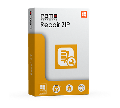 Remo Repair ZIP Software - Repair & Fix corrupt ZIP Archive