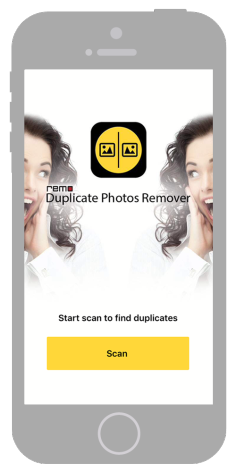 Launch Remo Duplicate Photos Cleaner on your iPhone