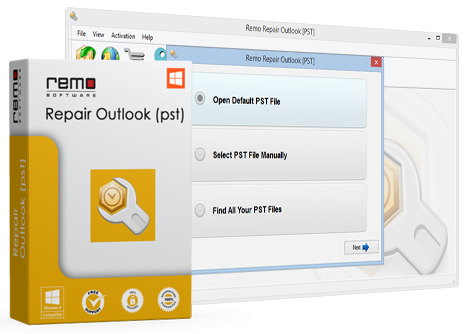 Remo Repair Outlook (PST) – Recovers Outlook Folders from