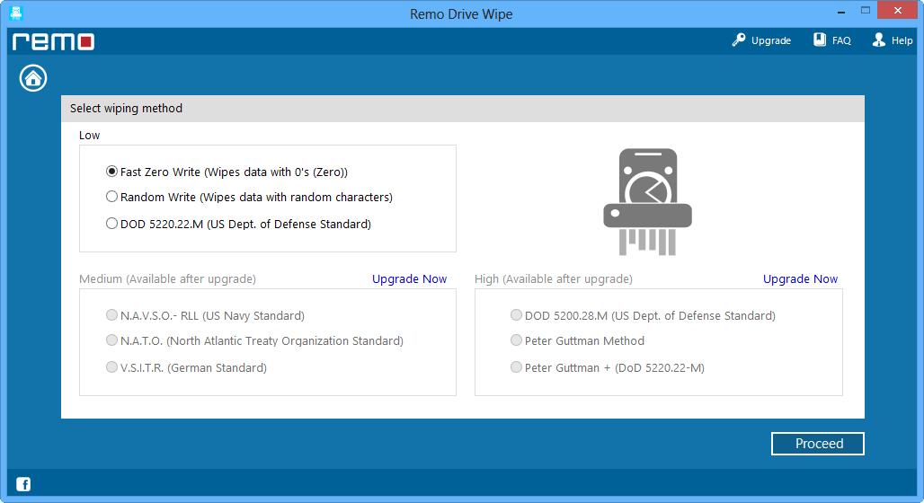 Remo drive wipe free edition 1.0.1.9