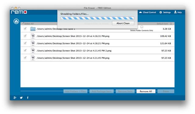 how to secure delete trash on mac sierra