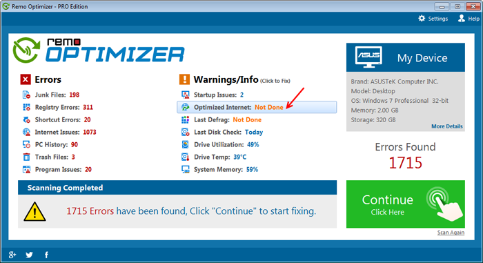 optimize-internet-screen-1