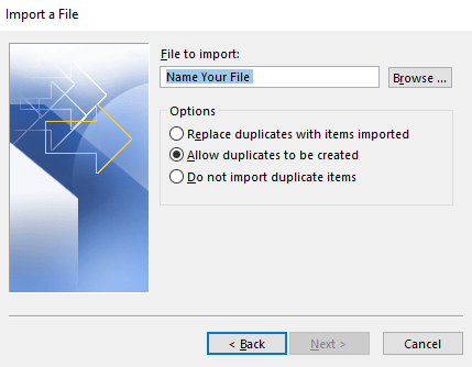import or migrate outlook contacts