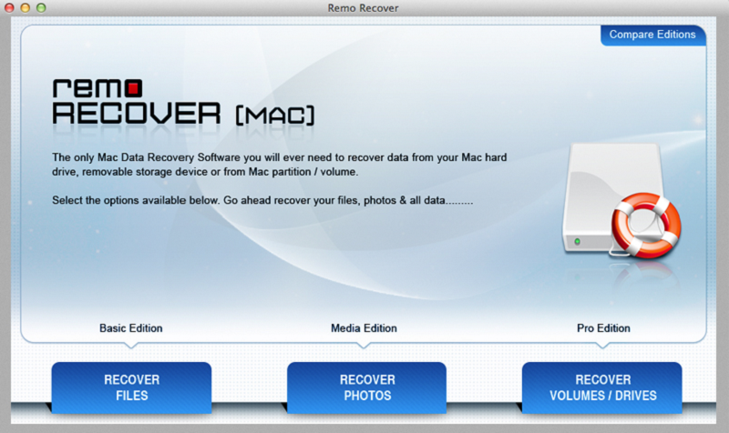 Recover data using Remo Recover Mac Pro.