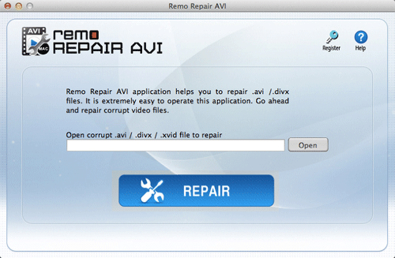 Fix broken AVI file with Remo Repair AVI Mac