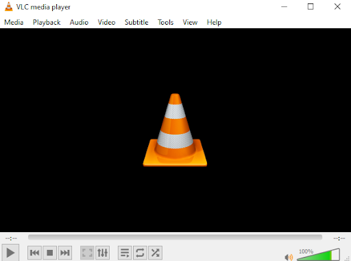 open vlc media player to fix avi with broken index