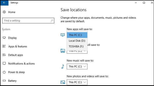 Sd Karte Als Standardspeicher Einstellen.Wie Kann Man Windows 10 Standard Speicherort ändern
