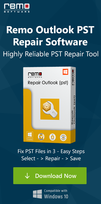 Remo Repair Outlook PST