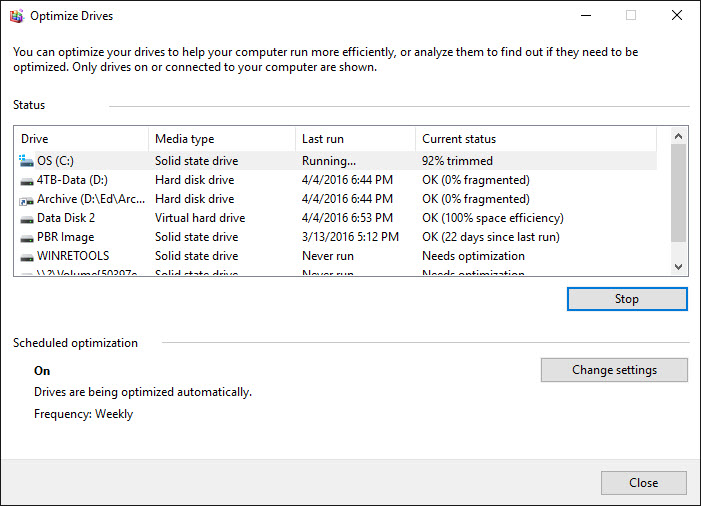 Remo SSD Defragment Article - Screen Shot ZDnet