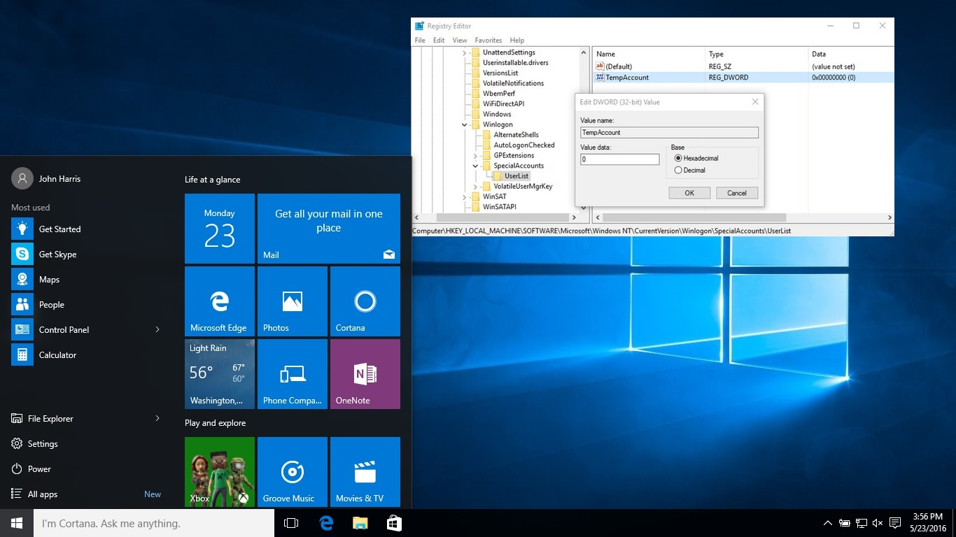 Windows 10 Screenshot featured