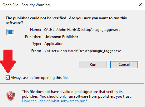 """Should You and How to Bypass """"Publisher Could Not Be"""