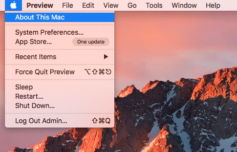 Optimized Storage in MacOS Sierra