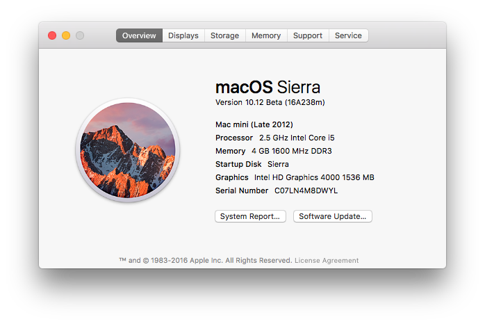 Sierra Optimized Storage