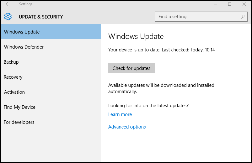 get windows 10 anniversary update