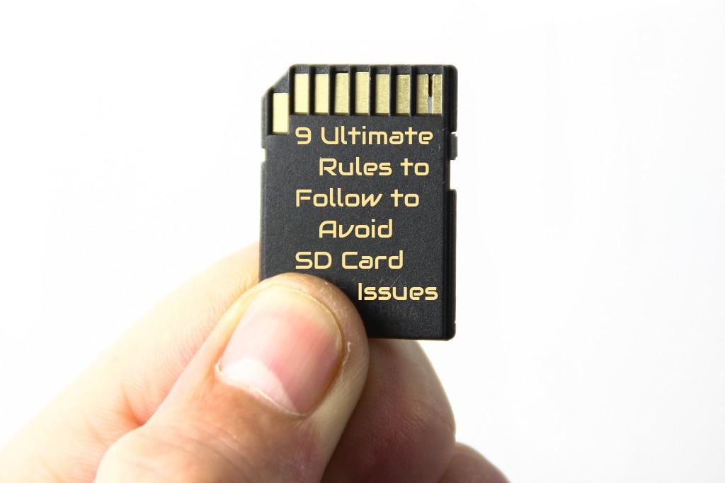 avoid SD card issues