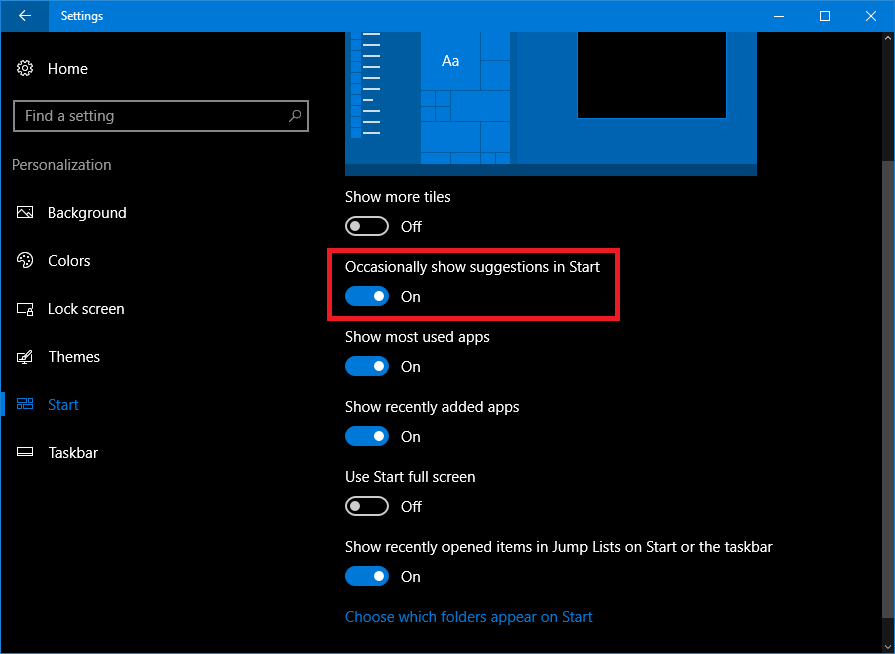 disable windows 10 tips and tricks
