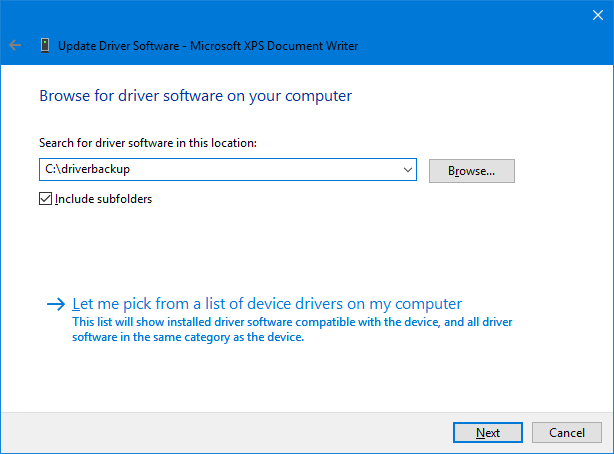 windows 10 driver backup