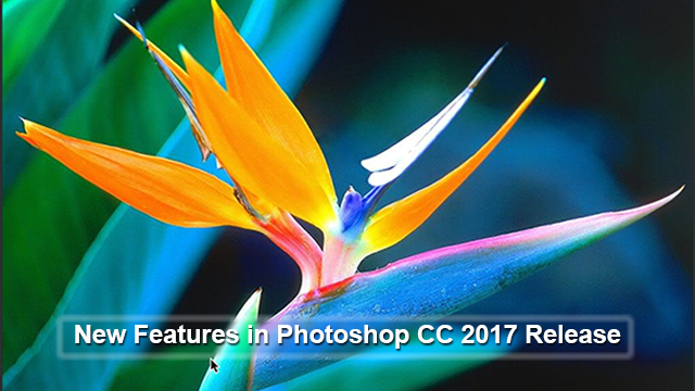 new things in photoshop 2017