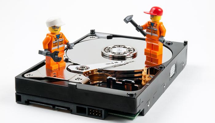 Fix hard drive problems ion hard drive