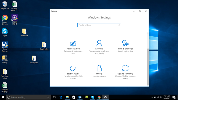 turning off Window 10 apps running in the background