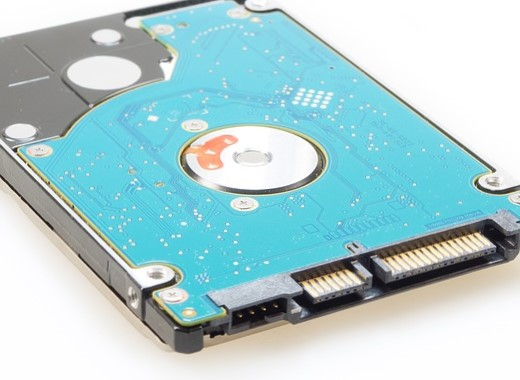 why new hard drives show less memory