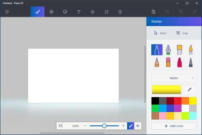 Paint 3d Neue Anwendung In Windows 10