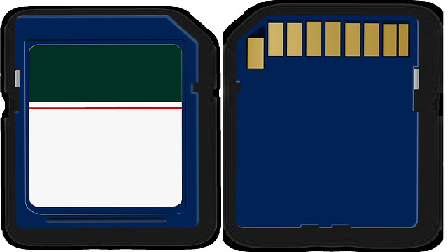 error in sd card