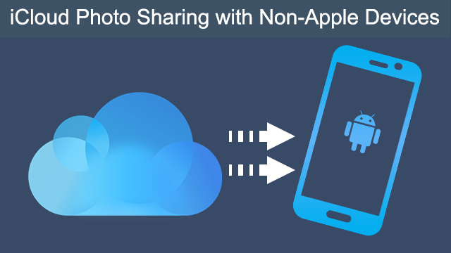 how to move photos to icloud drive on android devices