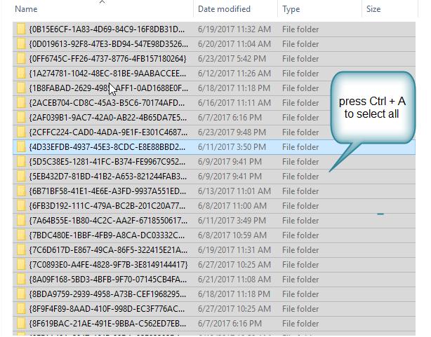 delete temp folder