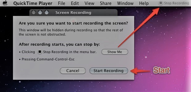 How to Use QuickTime for Screen Recording - Info | Remo Software