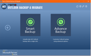 Outlook backup and migrate
