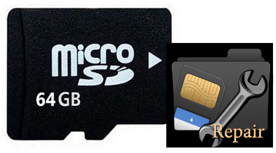How to fix corrupted sd card with computer