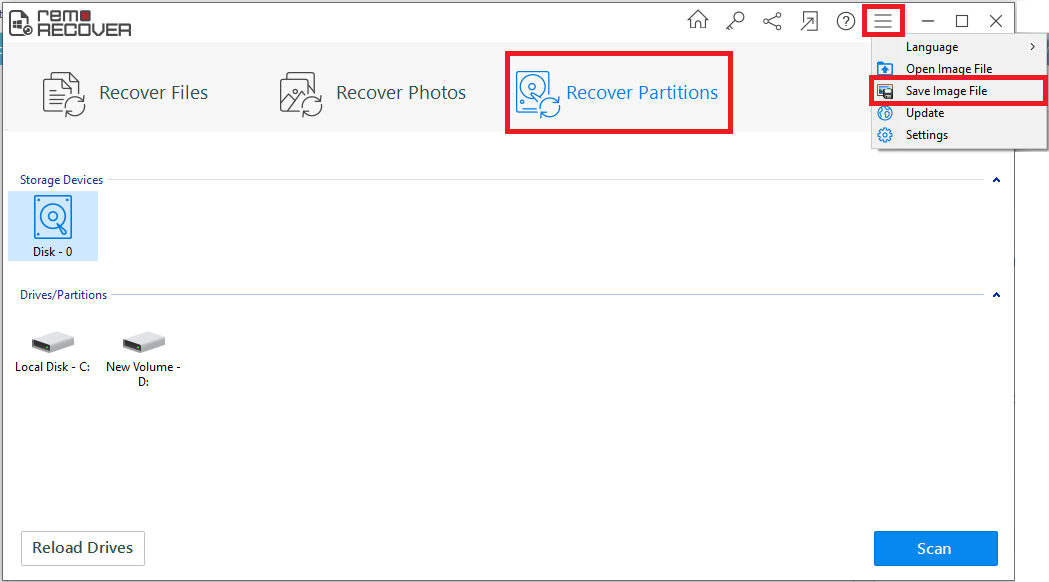 recover cant format sd card