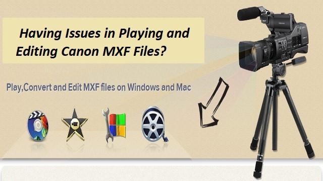Play, Convert, Edit MXF Files on Windows and Mac