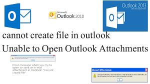 Solved - Outlook 2016 Error Opening Word or Excel Attachment/file