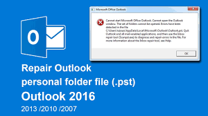 Solved - PST File is not Showing Emails in Outlook 2016