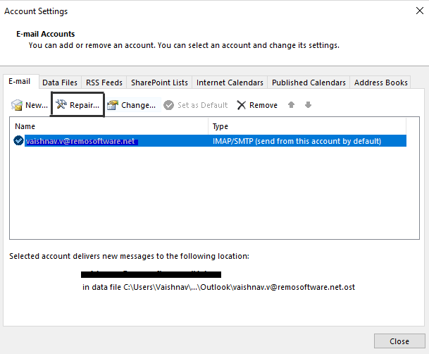 Solved - Outlook Cannot Logon, Verify you are Connected to