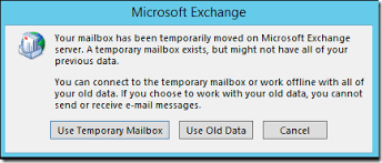 Best Practices to Address Outlook 2016 Temporary Mailbox Error