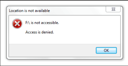 SOLVED: Disk Check Failed - Windows cannot access the disk - Info