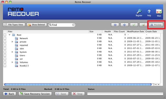 Select Drives / Volumes