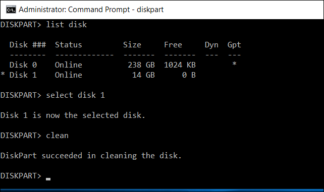 Easy Steps to Undo DiskPart Clean - DiskPart Recover Command