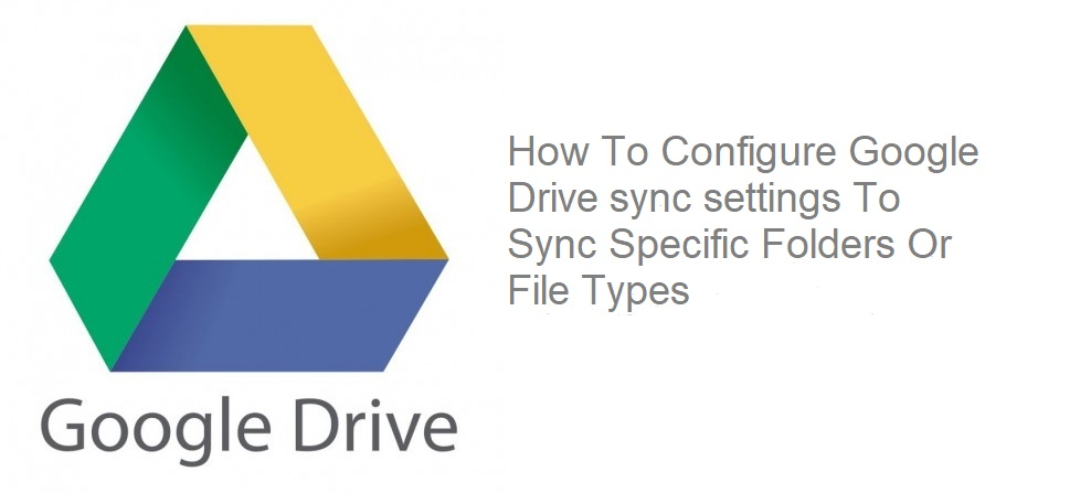 google-drive-sync-settings
