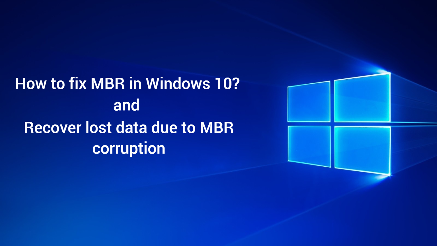 MBR corruption