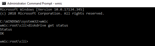 check-hdd-using-wmic