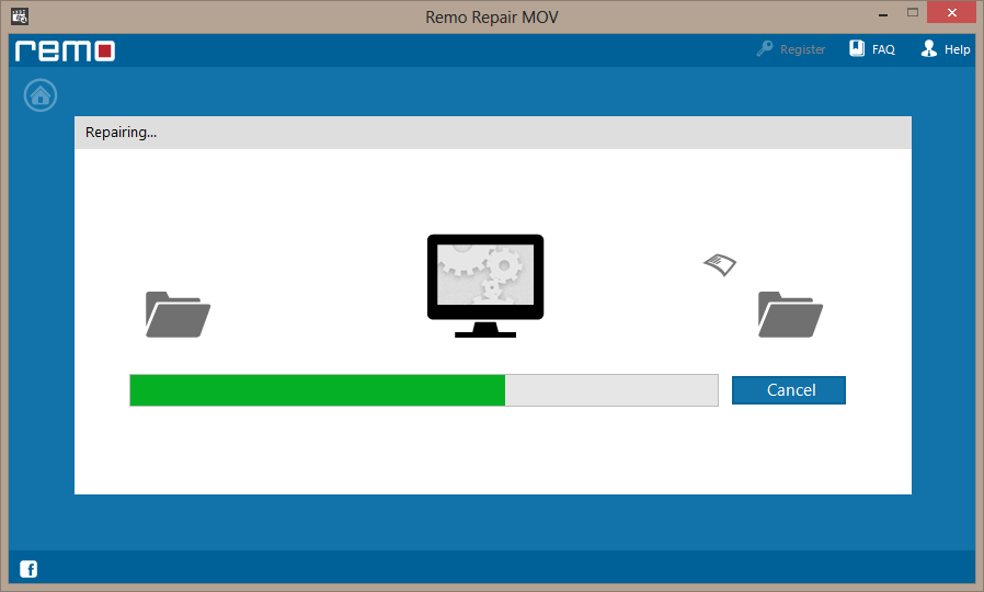 repair process of choppy video file