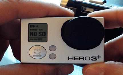 GoPro No SD car Error in Hero3