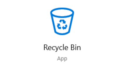 restore deleted files from Windows Recycle Bin before empty